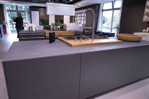 Graue Küche Graue Arbeitsplatte  Kitchens Pinterest