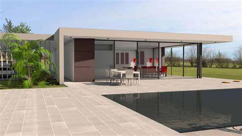 plan maison plain pied 4 chambres avec suite parentale plan maison à toit terrasse plans de maisons d 39 architecte