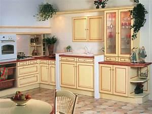 meuble cuisine 26 exemples qui arrangent With cuisine equipee style provencale