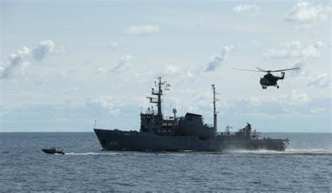 Jūras spēki piedalās starptautiskās mācībās