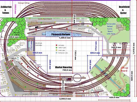 sprei railway model railroad track plans model railway plans