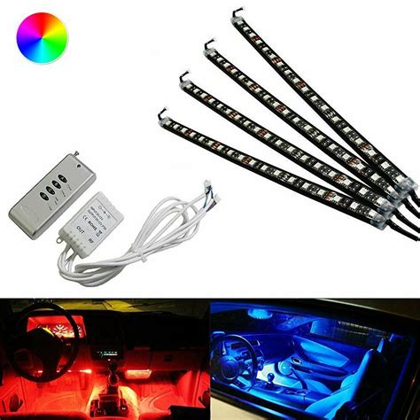 Color Rgb Led Knight Rider Ground Effect Light