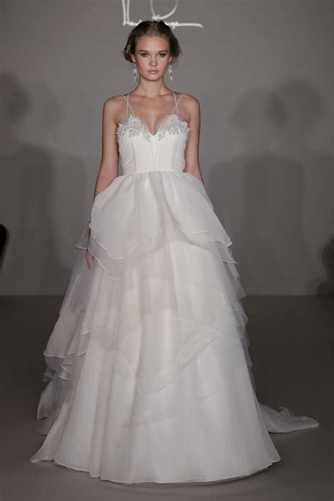 See Hayley Paiges Debut Wedding Dress Collection Onewed