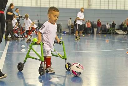 Adapted Equipment Programme Frame Football Players Play