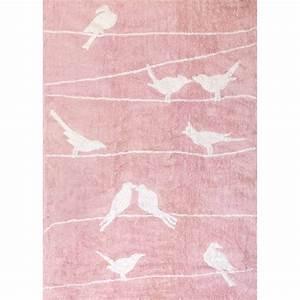 tapis enfant motif colombe oiseau signe aratextil With tapis chambre bébé avec bon plan livraison de fleurs