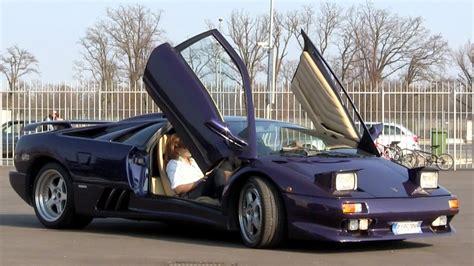 Modified Lamborghini Diablo Vt V12 Engine Sound