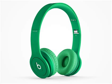 beats by dre hd headphones green stacksocial