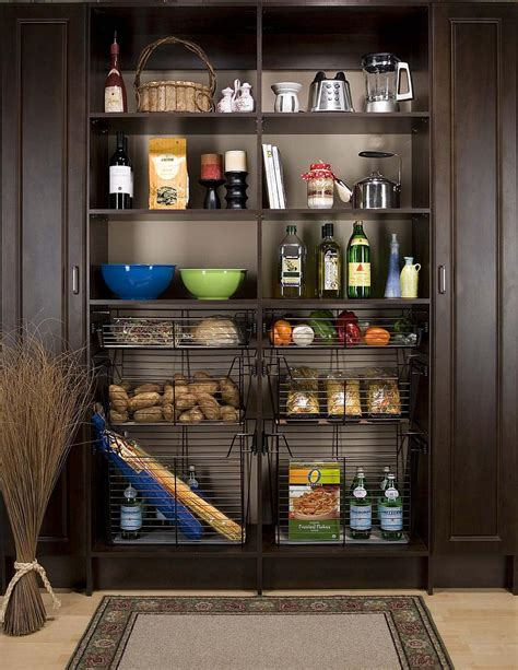 small pantry ideas   organized space savvy kitchen
