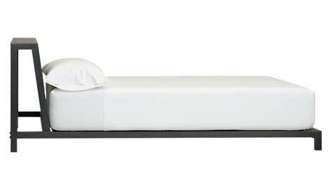 alpine gunmetal bed cb2