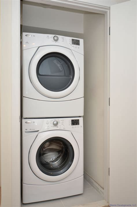storage idea for small bathroom apartment size washer and dryer stackable homesfeed