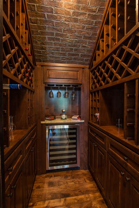 how to build a wine cellar kitchen contemporary with