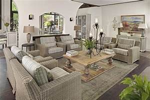 Using outdoor indoor furniture to improve your home for Using patio furniture in living room