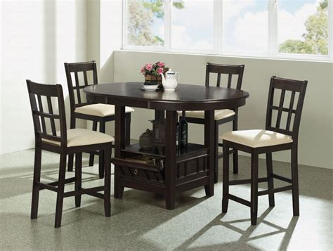 The Modern Touch For The Set Of Counter Height Kitchen Table