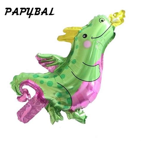pcs mini dinosaur foil balloon cartoon animals helium