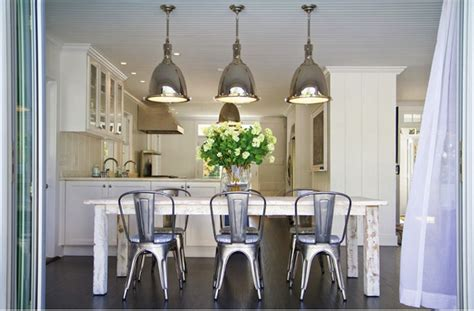 white washed dining table contemporary dining room