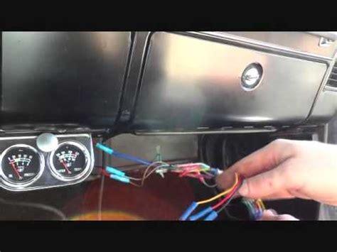 camaro glove box stereo install youtube