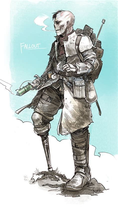 Fallout Oc Chet By Psuede On Deviantart