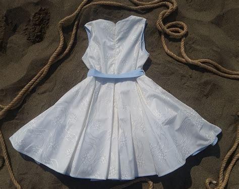 Le migliori proposte di abbigliamento da cerimonia per bambine di tutte le età! Vestito cerimonia bambina in cotone ricamo a fiori, 4-12 anni