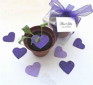 plantable seed paper hearts diy wedding favors place With plantable seed paper wedding favors