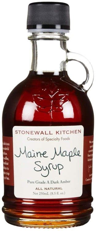 stonewall kitchen maine stonewall kitchen maine syrup 8 1 2 oz reviews find