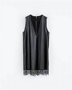 robe simili cuir blonde de zara dresscode pinterest With robe militaire zara