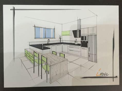 dessin de cuisine dessin cuisine moderne cuisines inovconception