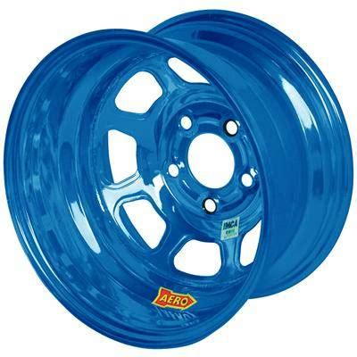 aero  series imca rolled wheel blue chrome  blu