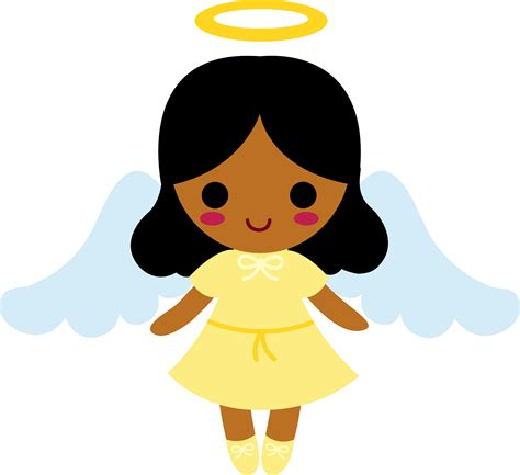 cartoon angel clipartsco