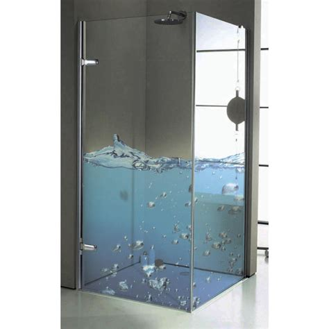 dusche herrlich bedrucktes glas dusche in bezug auf und