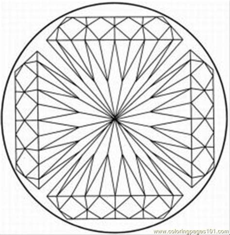 coloring pages kaleidoscope  bestofcoloringcom