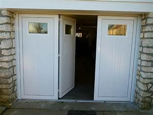 Porte garage battant pvc dootdadoocom idees de for Porte de garage a battant