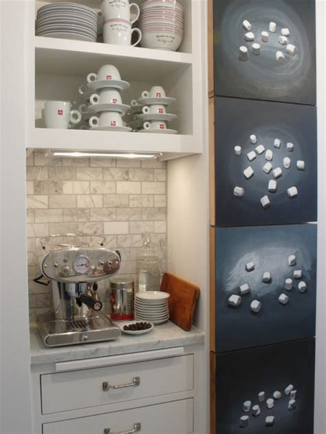 kitchen coffee station houzz