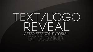 Hand Drawn Text/Logo Reveal Tutorial | After Effects - YouTube