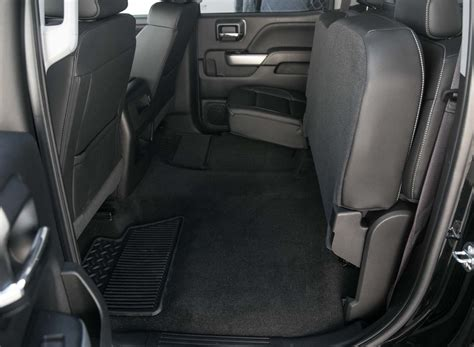 2017 Chevrolet Silverado 2500HD 4WD Z71 LTZ rear interior