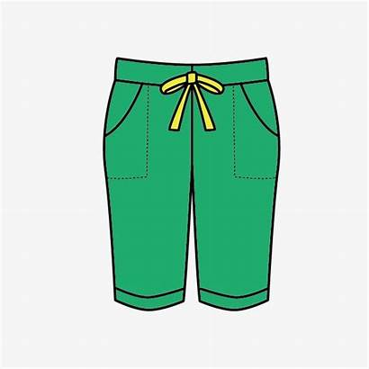 Pants Clipart Cartoon Pant Clothes Transparent Clip