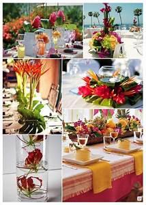Deco Table Tropical : fleurs mariage lesquelles choisir id e d co sur le th me tropical pinterest fleurs ~ Teatrodelosmanantiales.com Idées de Décoration
