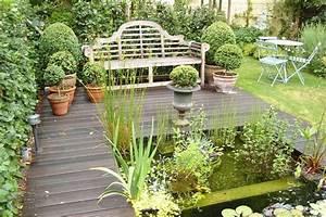 Salon De Jardin Romantique : jardin en images un jardin de ville tr s romantique ~ Dailycaller-alerts.com Idées de Décoration