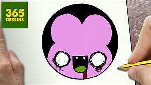 Dessin Facile Halloween : comment dessiner vampire kawaii tape par tape dessins ~ Melissatoandfro.com Idées de Décoration