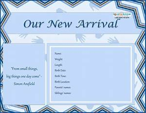 46 birth announcement templates cards ideas wording With birth notice template