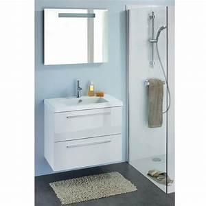 meuble salle de bain blanc laque ikea salle de bain With meuble salle de bain blanc laqué castorama