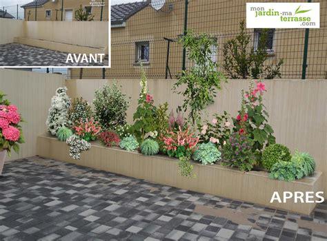 amenagement jardiniere terrasse monjardin materrassecom