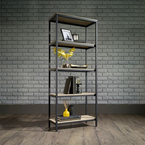 Industrial Style Bookcase by Industrial Style 5 Shelf Bookcase