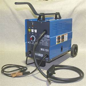 Chicago Electric Mig 151 Welding 230v 120amp Flux Wire