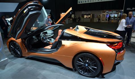 2019 Bmw I8 Roadster by 2019 Bmw I8 Roadster Makes An Impression At Detroit Auto