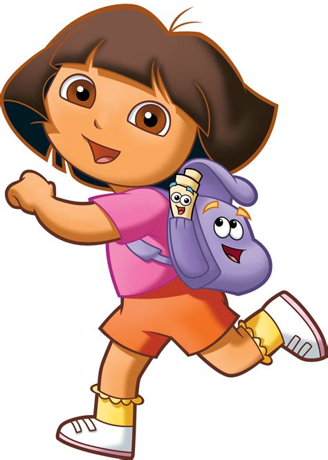 Cartoon Characters Dora La Exploradora Png