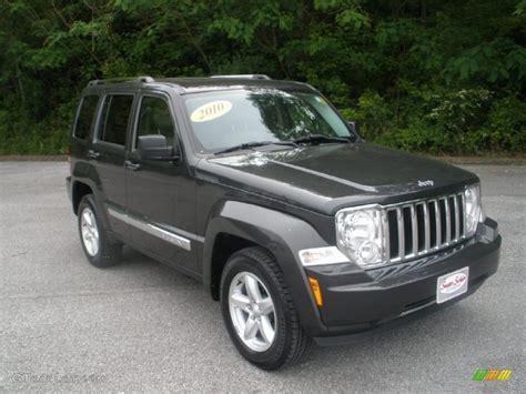 beige jeep liberty 2010 dark charcoal pearl jeep liberty limited 4x4