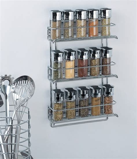 Steel Spice Rack by Top 10 Types Of Spice Racks Buying Guide