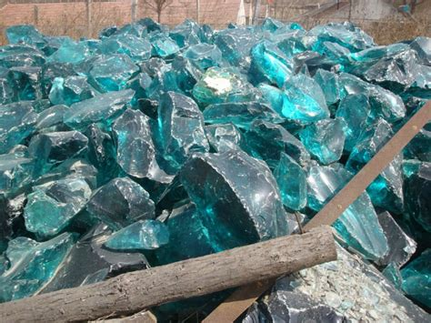 Glass Rocks Garden Decoration by Landscaping Decoration Glass Rock For Gabion View Glass