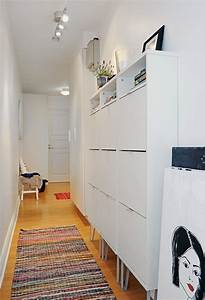 Ideen Für Schuhschrank : 1001 schmaler flur ideen zur optimaler einrichtung ~ Markanthonyermac.com Haus und Dekorationen