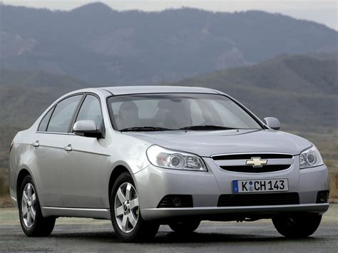 Chevrolet Epica Photos Photogallery With 16 Pics